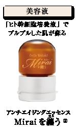美容液 Miraiを纏う