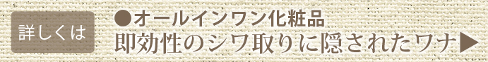 無添加化粧品〜オールインワン化粧品