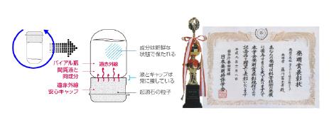 特許、発明賞を受賞した完全無添加化粧品