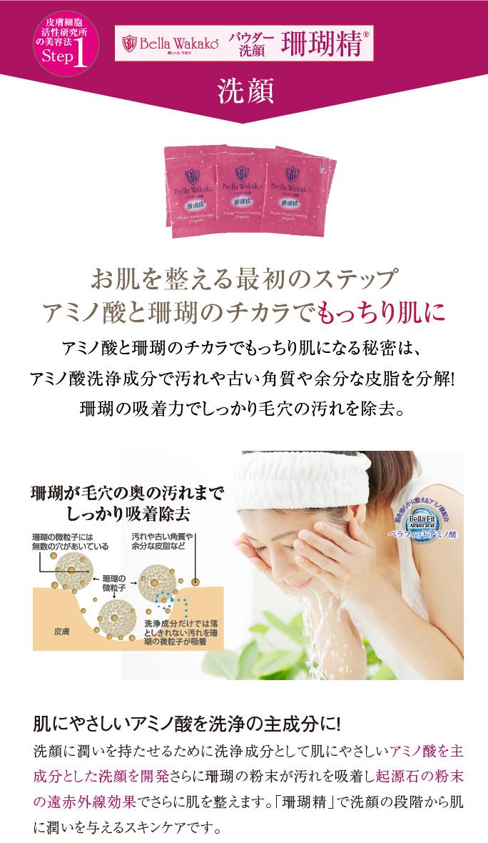無添加化粧品の珊瑚精 洗顔 スマホ用