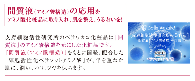 間質液(アミノ酸構造)の応用 スマホ用